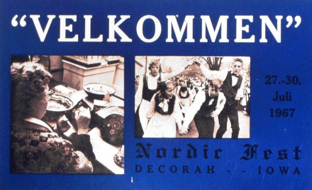 1967 Nordic Fest Advertisement