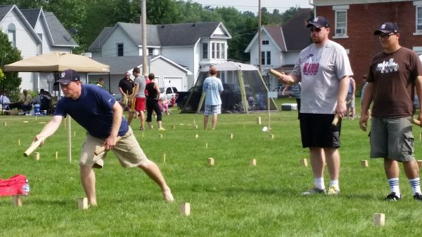 Kubb at Nordic Fest