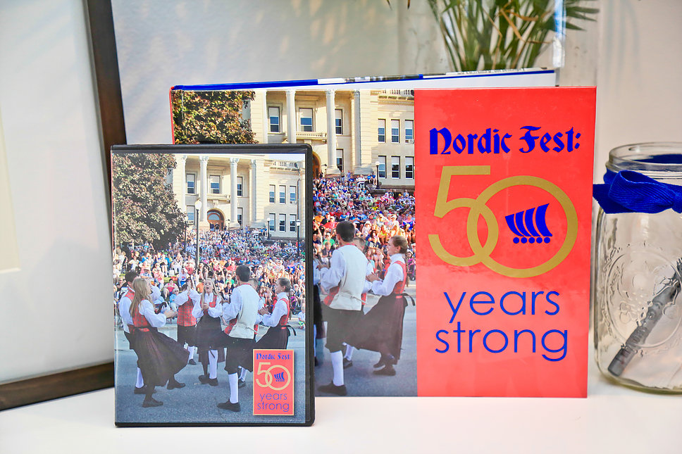 Nordic Fest 50 Years Strong book & DVD
