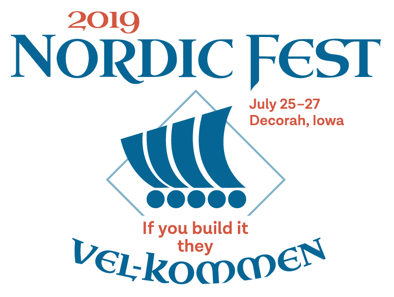 Nordic Fest 2019: If You Build It, They Vel-Kommen July 25-27, 2019